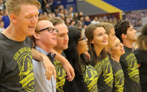 Sports, dancing, more at first pep assembly