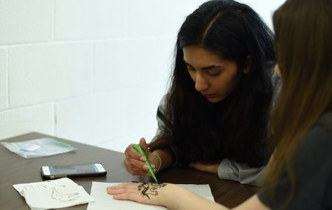 Student studies, practices age-old art form