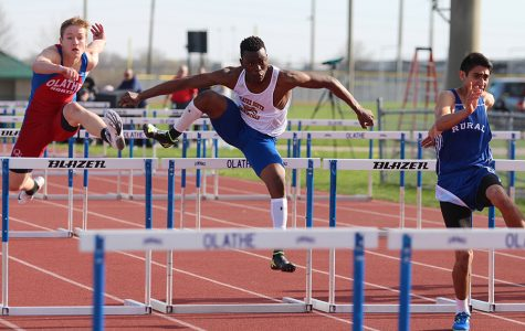 KU relays help track team tune up for state