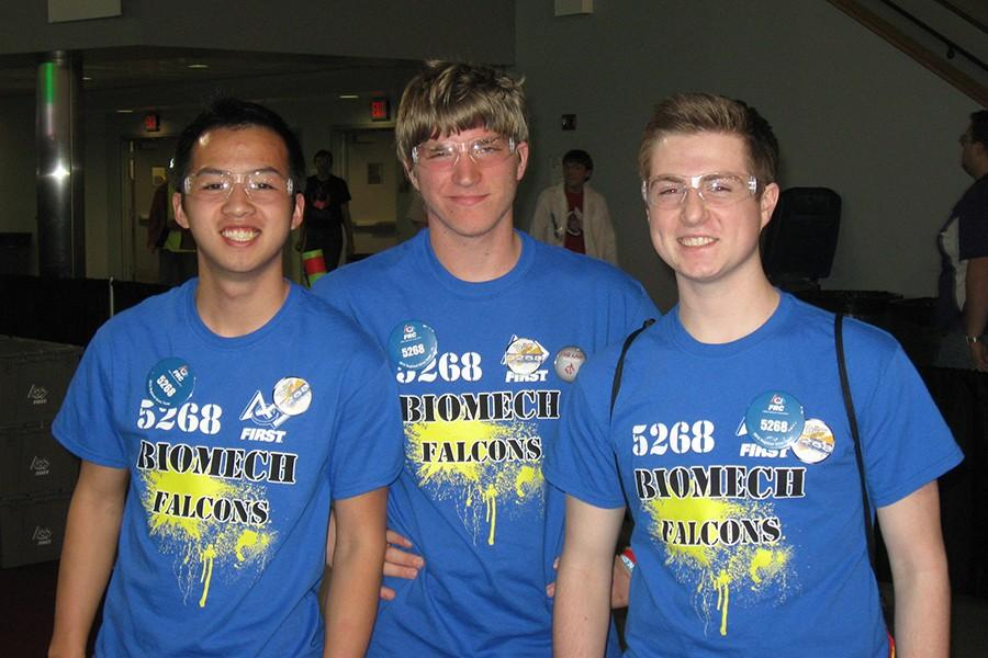 Bio Mech robotics team improves from last year in competition