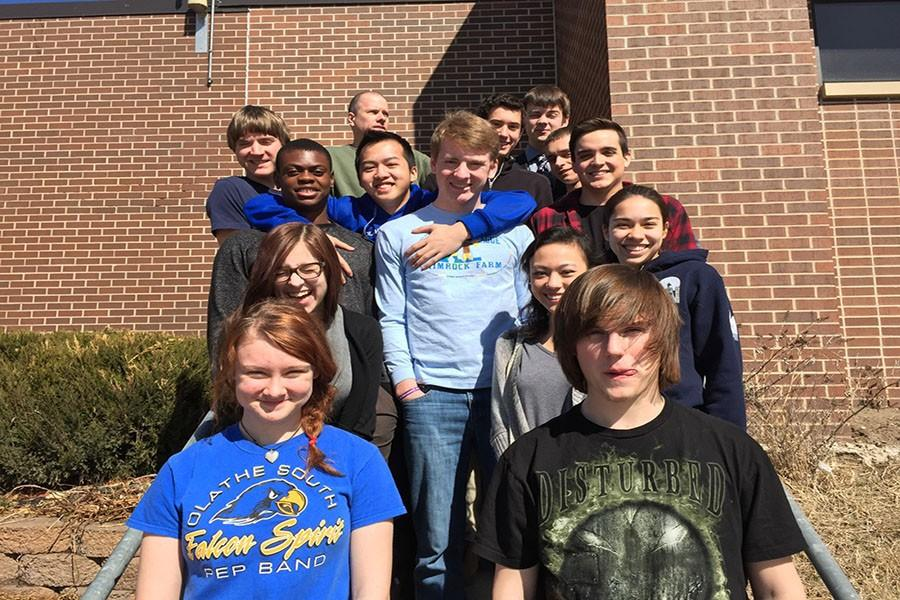 The Science Olympiad team placed ninth at regionals, qualifying them for state. Members of the team include Alaina Coughlin, Kyle Mitchell, Melody Holliday, Isa Cabanas, Rachel Stupp, Dakota Okwuone, Chris Sukstorf, Reed Knettle, Andrew Fales, Damian Vu, Isaiah Hastings, Ryan Mersmann, and Nathan Helgeson.