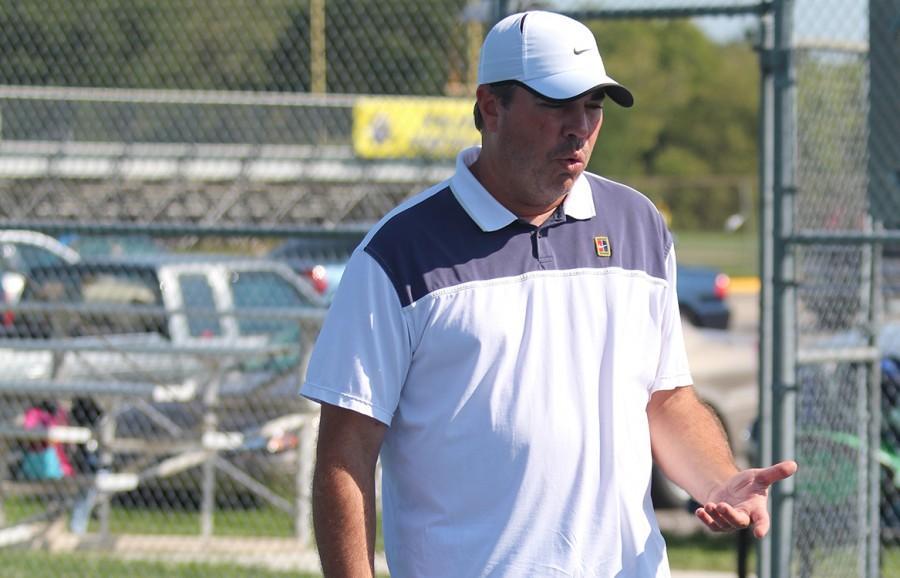 Jon Renberger, head tennis coach
