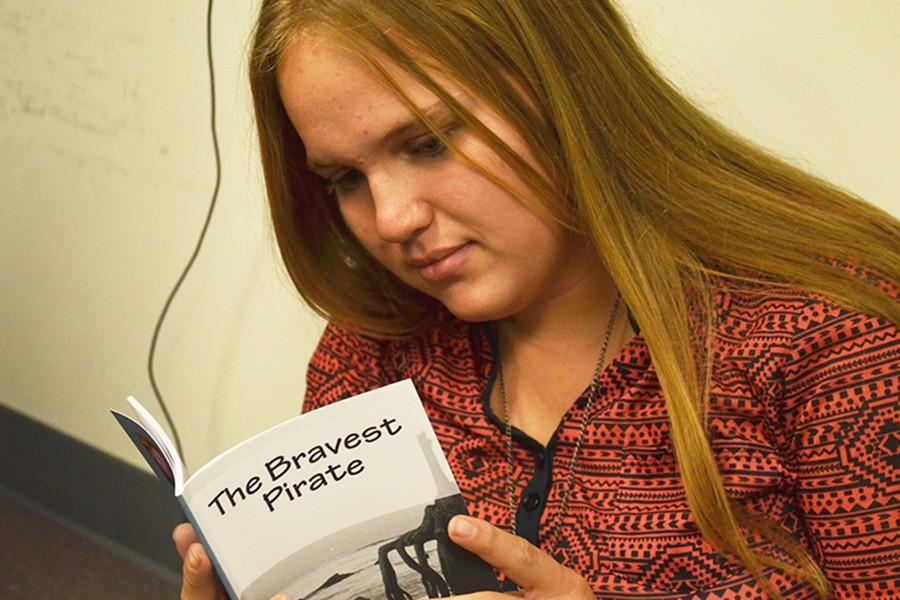 Kali Ray, sophomore, has published a novel called
