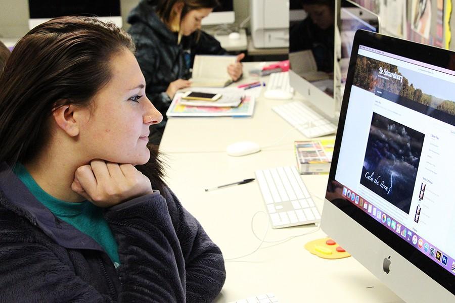 Anissa Presley, senior, and her blog.