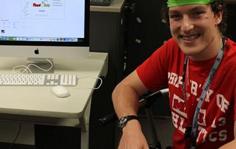 Ryan Robinson, senior, has run his own online radio show since he was a freshman.