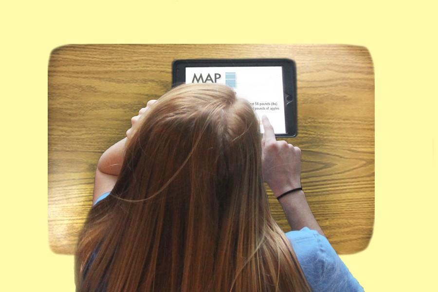 Students began taking MAP tests.