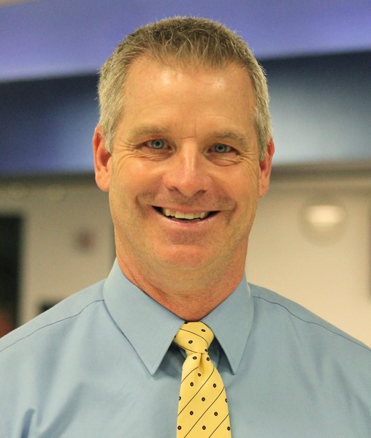 Craig Lewis, the new head football coach.