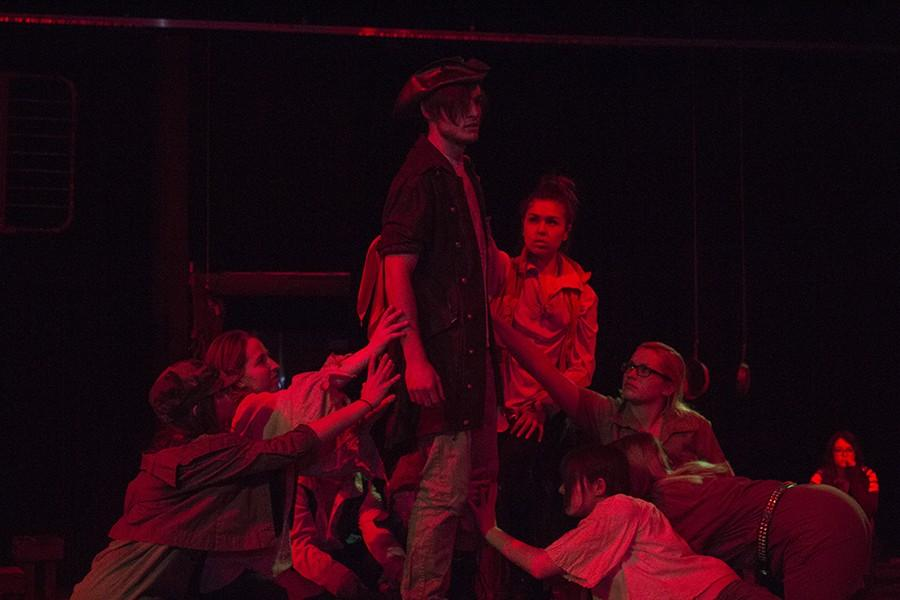 David Wernsman, senior, was Haemon in Antigone.