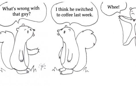Staff lives for  more caffeine