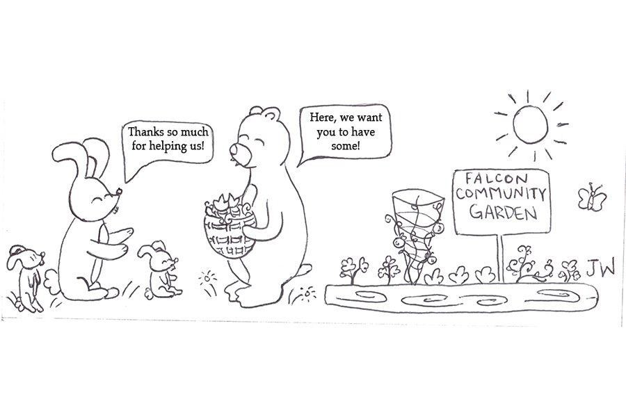 editorial cartoon walkerB