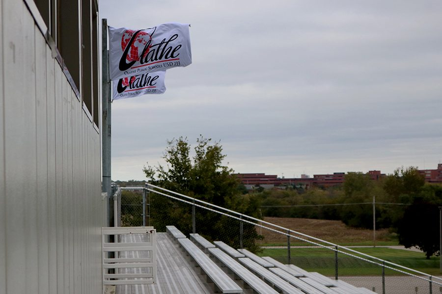 Top of the home side of ODAC by the press box.