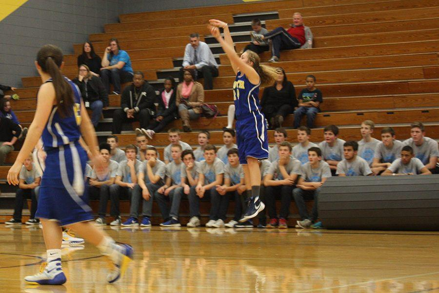Girls basketball plans on having a better record than last year. They won 21 games and lost four last season.