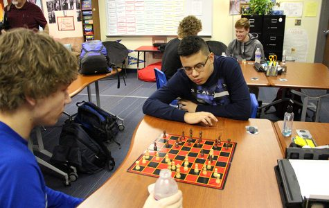 Students build new Chess Club