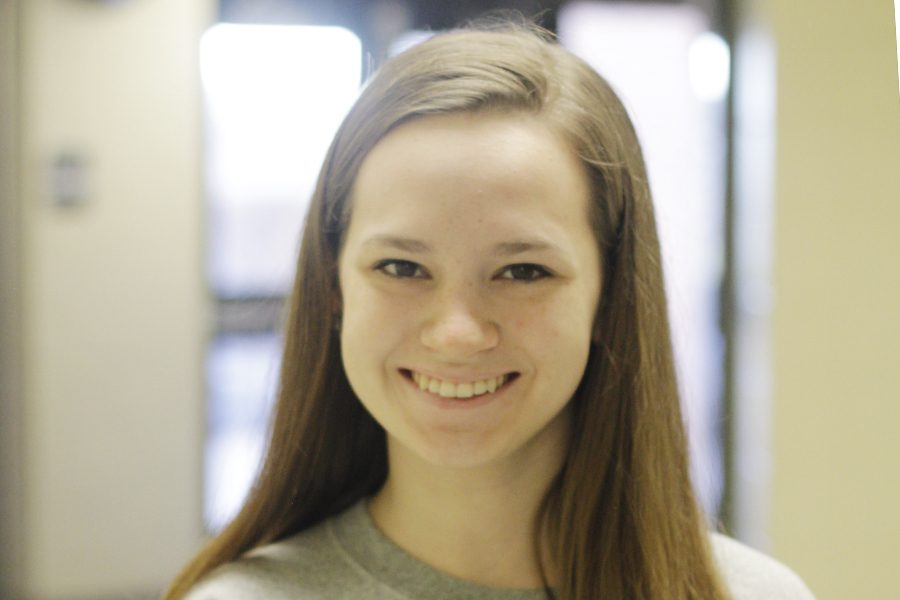 Bethany Bluel, senior, is very involved in many school activities.