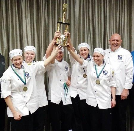 Weeks of preparation earn culinary students awards