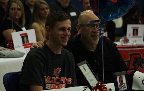 College-bound athletes celebrate