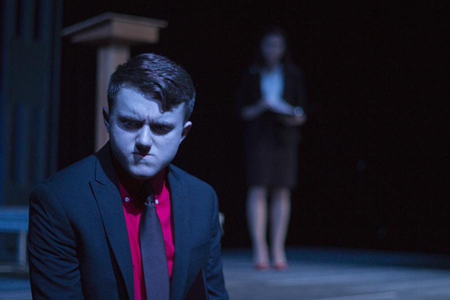 Jacob Johnston, senior, played Brutus in Julius Caesar.