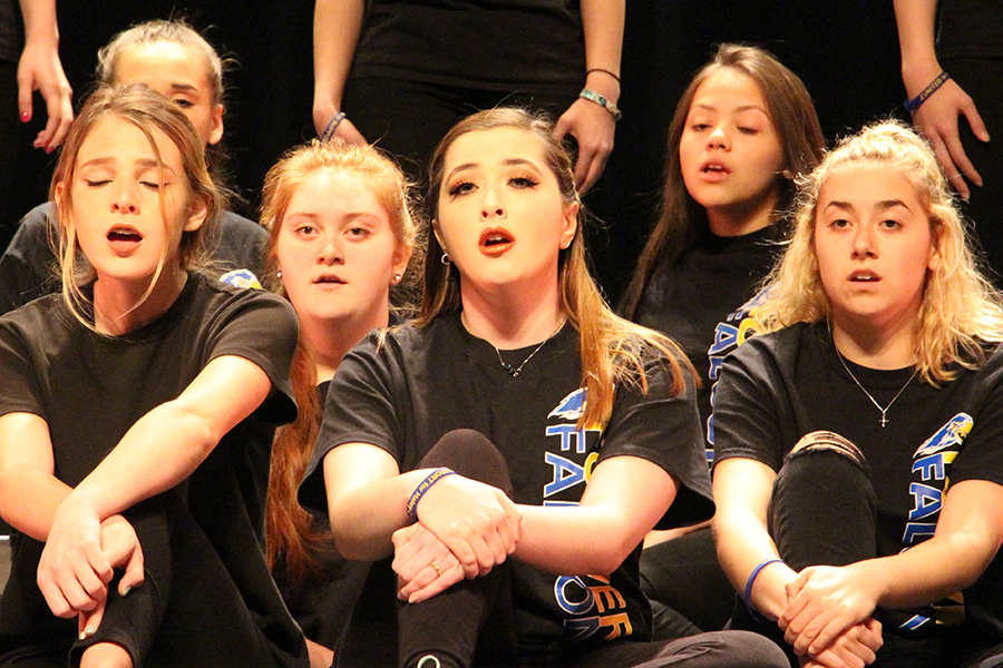 For the pops concert,  all of the choirs sang a variety of songs from the 70's to 2000's.