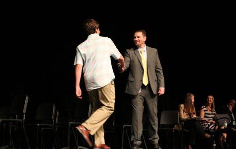 Seniors receive recognition before graduation