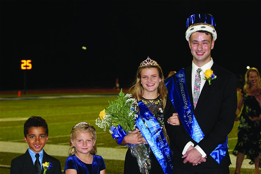 Homecoming wraps up week of fun with royalty crowning