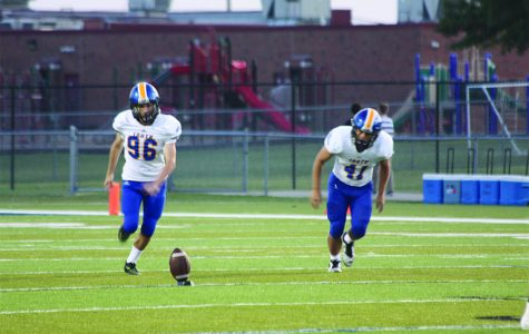 Freshman takes field as varsity kicker