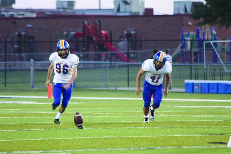 Freshman+takes+field+as+varsity+kicker