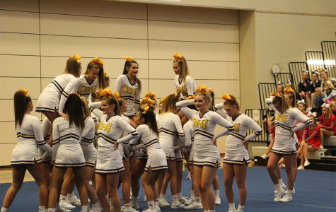 Cheer receives high scores at state competition