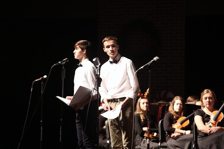 Repertory classes and orchestra perform 'It's a Wonderful Life'