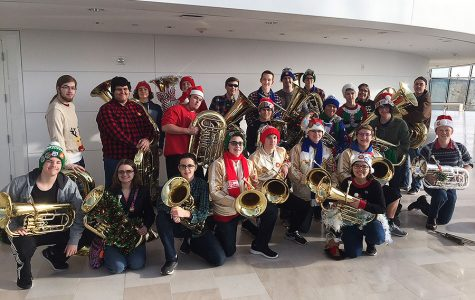 Tuba players travel to Kauffman for Tuba Christmas