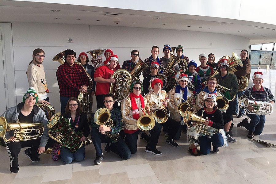 Tuba+players+travel+to+Kauffman+for+Tuba+Christmas