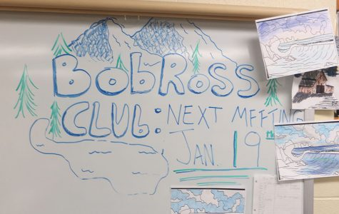 Bob Ross Club gathers students together