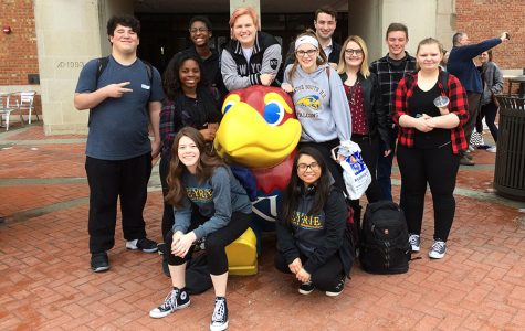 Student journalists compete at KU; 11 qualify for state