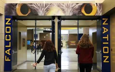 School adds new murals, scoreboard