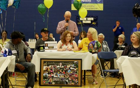 Students athletes recognized at signing event