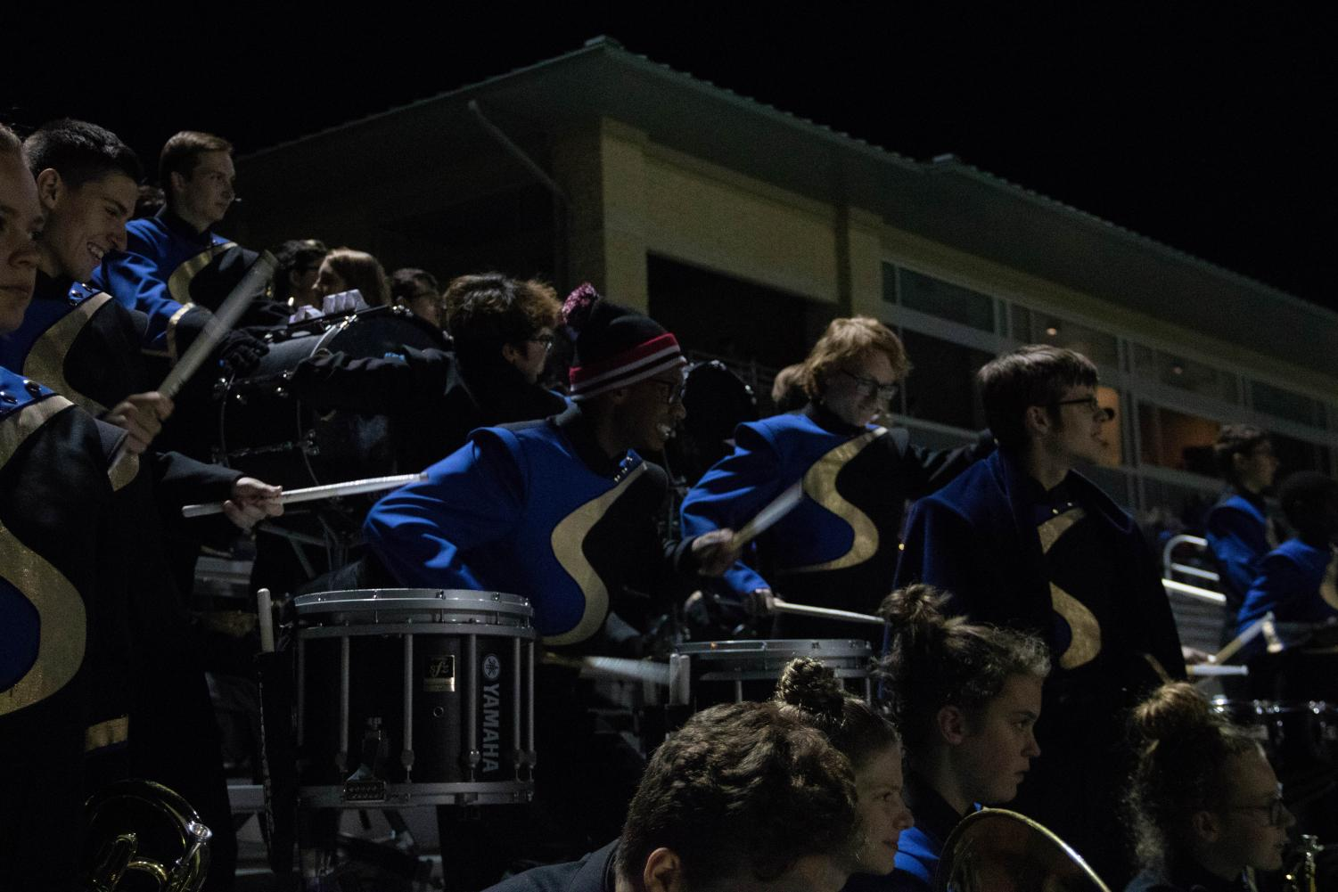 Band concludes 'Gifts of Joy' field show