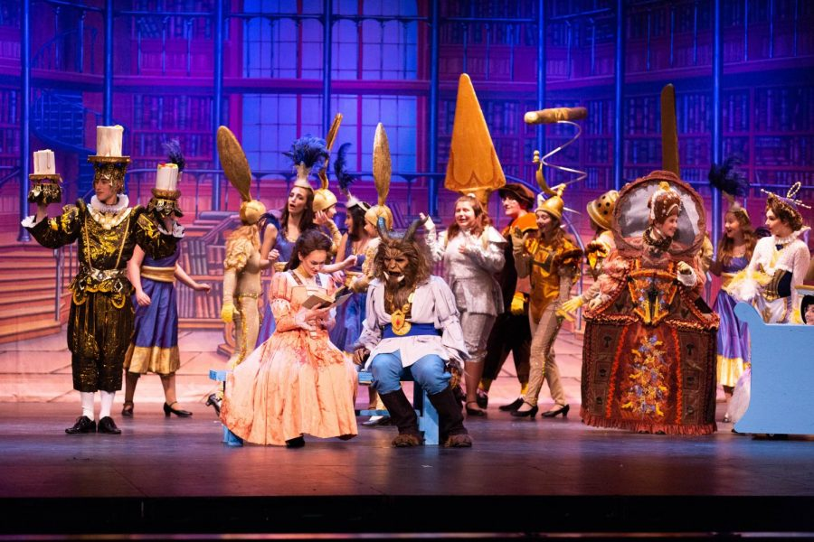 """""""Beauty and the Beast"""" enchanted audiences"""