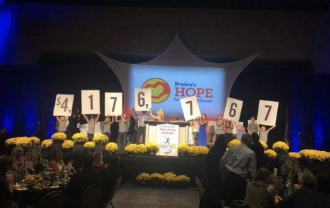 Braden's Hope Gala raises $700,000 for childhood cancer research