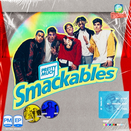 PRETTYMUCH releases fourth EP 'Smackables'