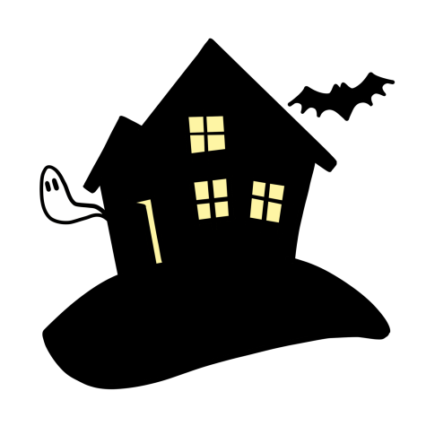 Going to haunted house are very fun, here is a wonderful illustration of a haunted house.